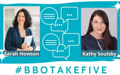 #BBOTakeFive with Kathy Soulsby