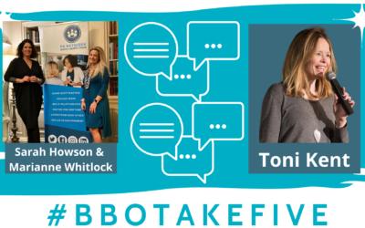 #BBOTakeFive with Toni Kent