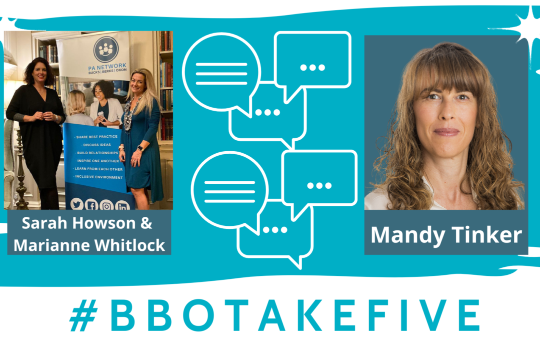 #BBOTakeFive with Mandy Tinker
